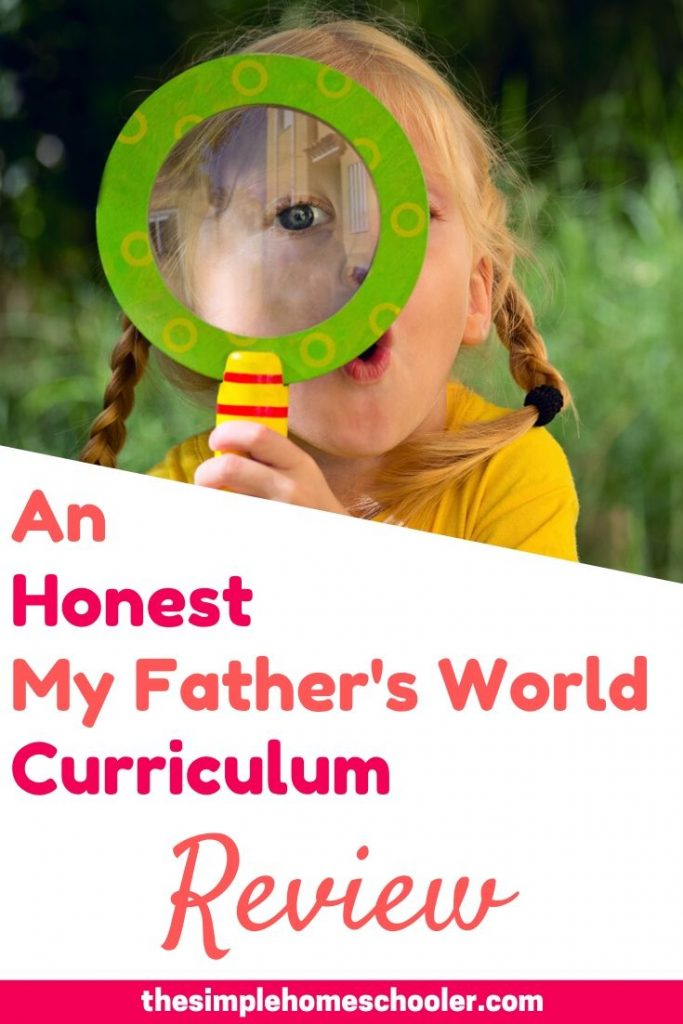 Shopping for homeschool curriculum can be overwhelming! I want to share with you how My Father's World curriculum has blessed us through Kindergarten, 1st grade, 2nd grade, and 3rd grade! Read this post to find out what I love and what I didn't love to help you choose your own curriculum this year!