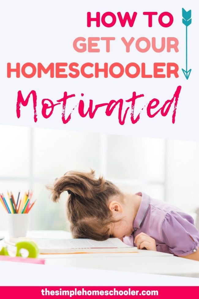 Tired of struggling with your kids and dishing out consequences to get their school work done? Let me share with you my #1 tip to keep my homeschooler motivated! We have been using this method for years and it has worked for all three of my kids. Download the free printable and get started today!