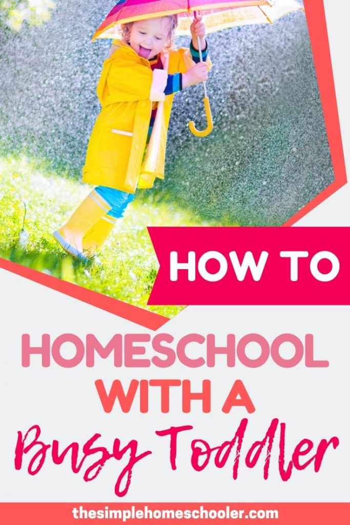If you can't even drink a cup of coffee in peace - how can you homeschool?! That's a valid concern. Let me share with you the ideas, hacks, and tips I've learned to manage my busy toddler and 2 year old while running my homeschool!