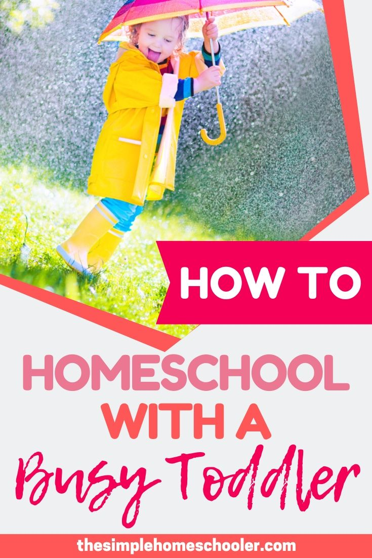 How to Homeschool with Toddlers and Not Lose Your Mind