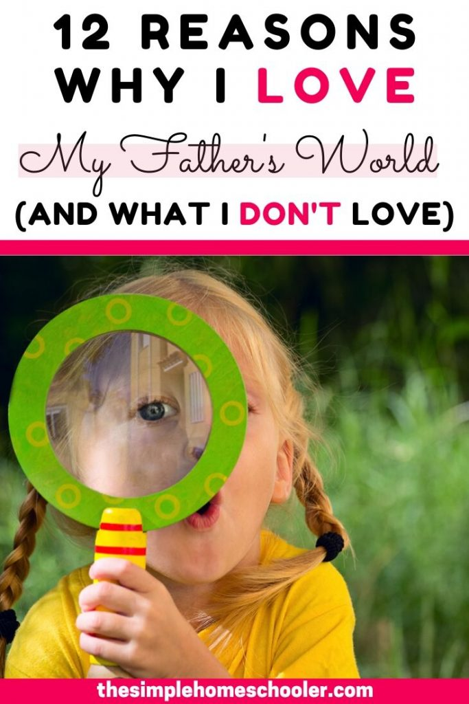 Shopping for homeschool curriculum can be overwhelming! I want to share with you how My Father's World curriculum has blessed us and hopefully help you choose your own curriculum.