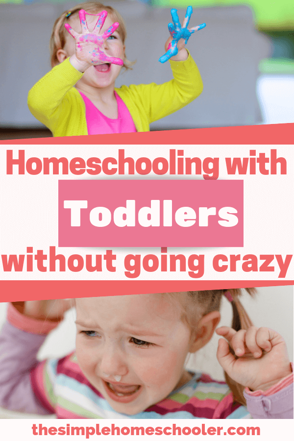 If you can't even take a shower with your kids running around - how can you homeschool?! Let me share with you the ideas and tips I've learned to deal with wild toddlers and busy kids while running my homeschool!