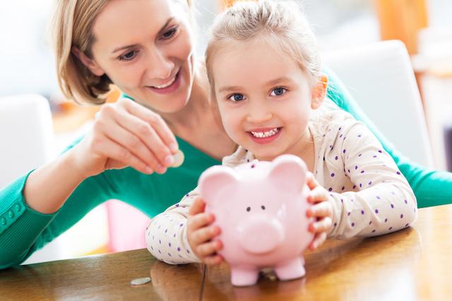 homeschool mom saving money while motivating her daughter