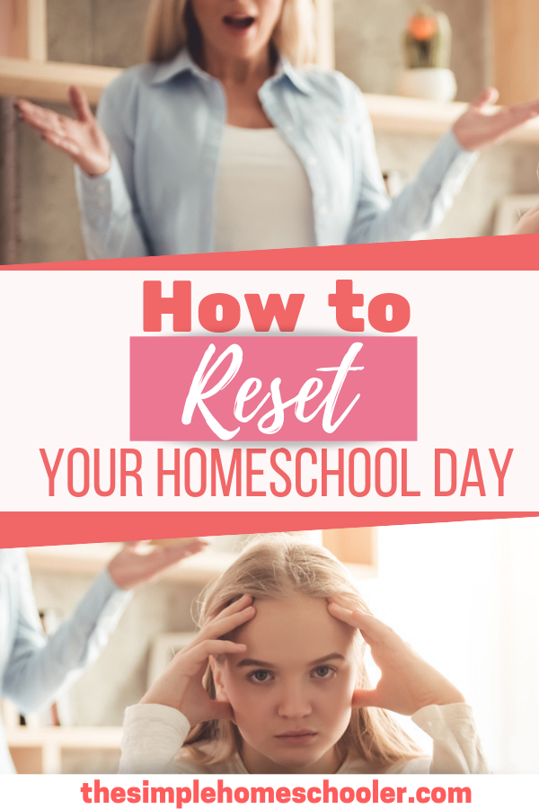 Is your perfectly planned homeschool day imploding in front of you? Are you struggling and needing some homeschool help? Let me show you how to take on the challenge in front of you and reset your day!