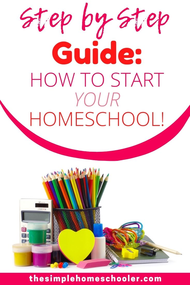 Not sure how to start homeschooling? Whether you have a kid in preschool, kindergarten or older - this post will walk you through each simple step from state laws to co ops to school rooms to get your homeschool up and running! Download the free printable checklist today and feel confident from day 1!