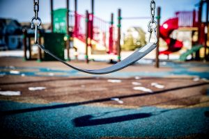 swing at a playground