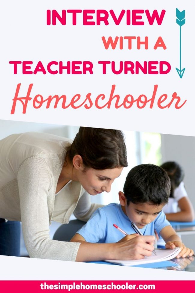 Trying to decide about Public School vs Homeschool for your children? This article is for you! A former teacher answers questions about her experience in the public school system and how she is now teaching her 4 children at home.