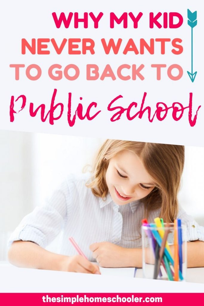 Why My Kid Never Wants to Go Back to Public School