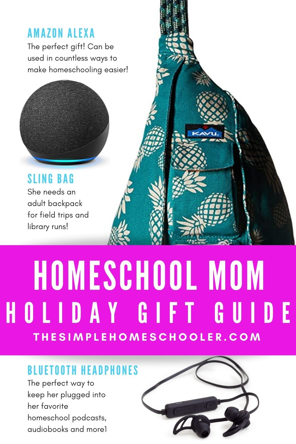 I bet we all have more homeschool moms in our life this Christmas! Be sure to recognize her hard work and surprise her with these fun gifts that any homeschool mom would love!