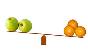Apple and Orange comparison
