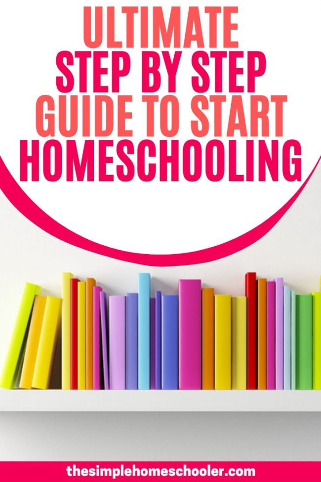 Not sure how to start homeschooling? Whether you have a kid in preschool, kindergarten or older - this post will walk you through each simple step from state laws to co ops to school rooms to get your homeschool up and running! Download the free printable how to start homeschooling checklist today and feel confident from day 1!