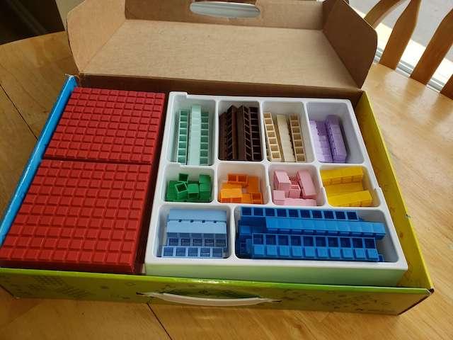 Math U See Alpha - Manipulative Box