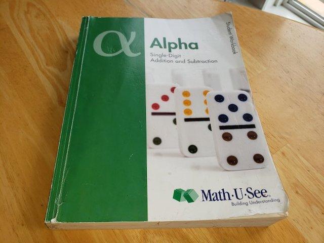Math U See Alpha Review Workbook