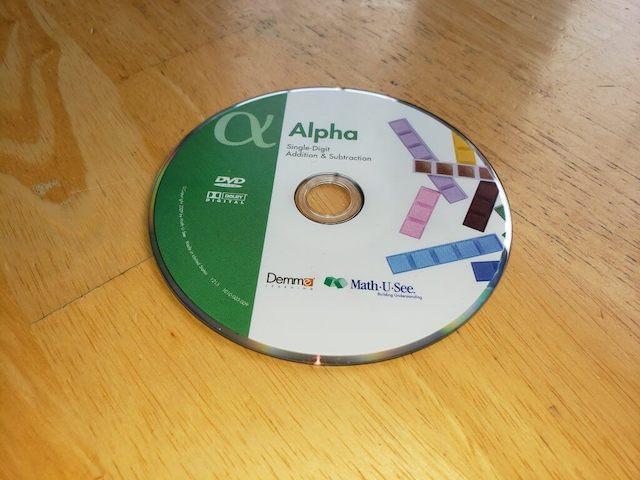 Math U See Alpha CD Lessons