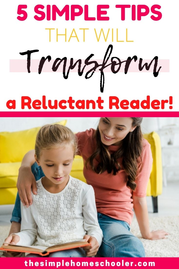 Are you struggling with a reluctant reader? I have been there! Let me share the simple tips that helped my kid fall in love with reading AND jump ahead multiple reading levels!