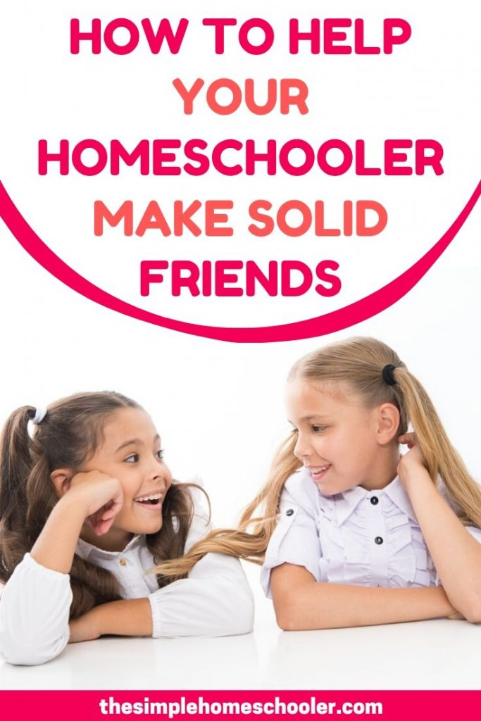 Worried about socializing your homeschooler? Looking for ideas to help them make friends? Been there! Let me save you time and money by sharing this awesome strategy I developed to get my children connected in a solid group of friends. It works!