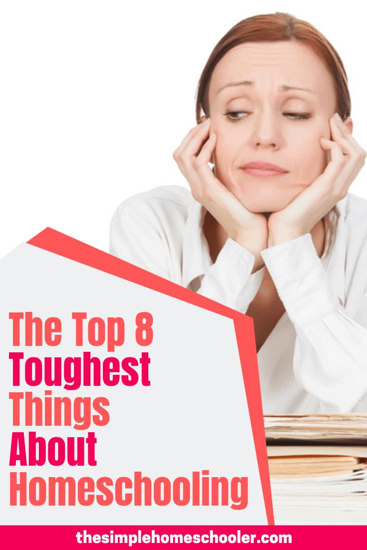 Top 8 Real Life Homeschool Struggles