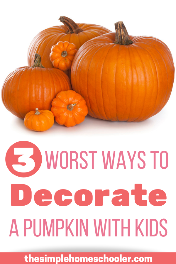 Looking for a fun ideas to decorate a pumpkin with your kids? Let me guide you around these epic Pinterest no carve pumpkin fails - you will be so thankful you didn't try them!