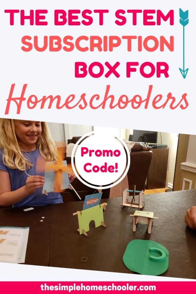 Thinking about adding a subscription box to your homeschool? Kiwi Crate is where it's at! We have been using Kiwi Crates for about 6 years now and we still think they are the best educational option for art, science, and STEM for our homeschool.