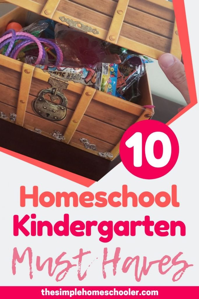 Not sure what school supplies you're going to need to homeschool kindergarten? Don't want to waste money or things you don't really need, but don't want to forget something essential? There are a lot of options out there, but I narrowed it down for you to the top 10 things I could not do homeschool kindergarten without - the absolute homeschool kindergarten must haves! Happy homeschool shopping!