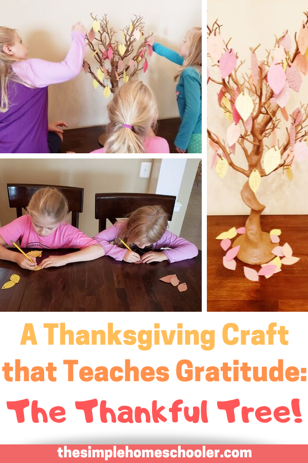 Looking for a simple Thanksgiving craft to make with your kids? This unique craft will encourage your kids to be truly thankful as they decorate a tree with all the things they are thankful for! The Thankful Tree is now one of our Thanksgiving traditions and the centerpiece of your holiday table! Don't miss the free instant download too!