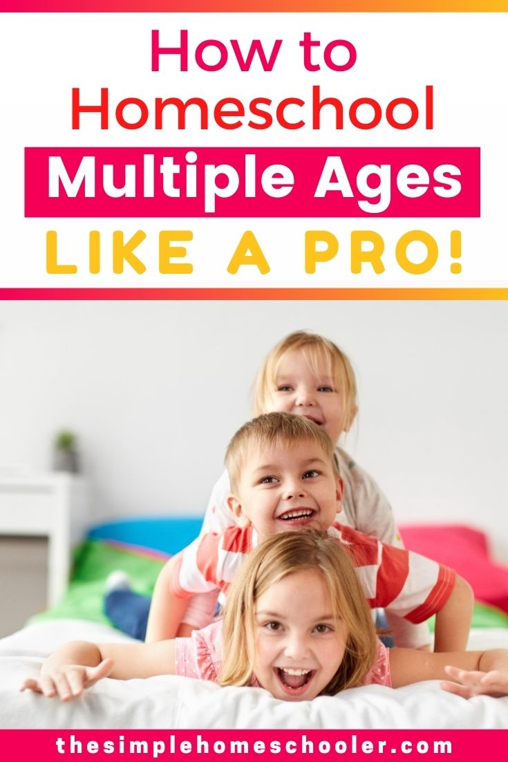 Looking for a solution about how to homeschool multiple ages? Check out these 10 tips, tricks, and hacks that will help you balance it all! The article also highlights a day in the life of our routine so that you can see it all in action!