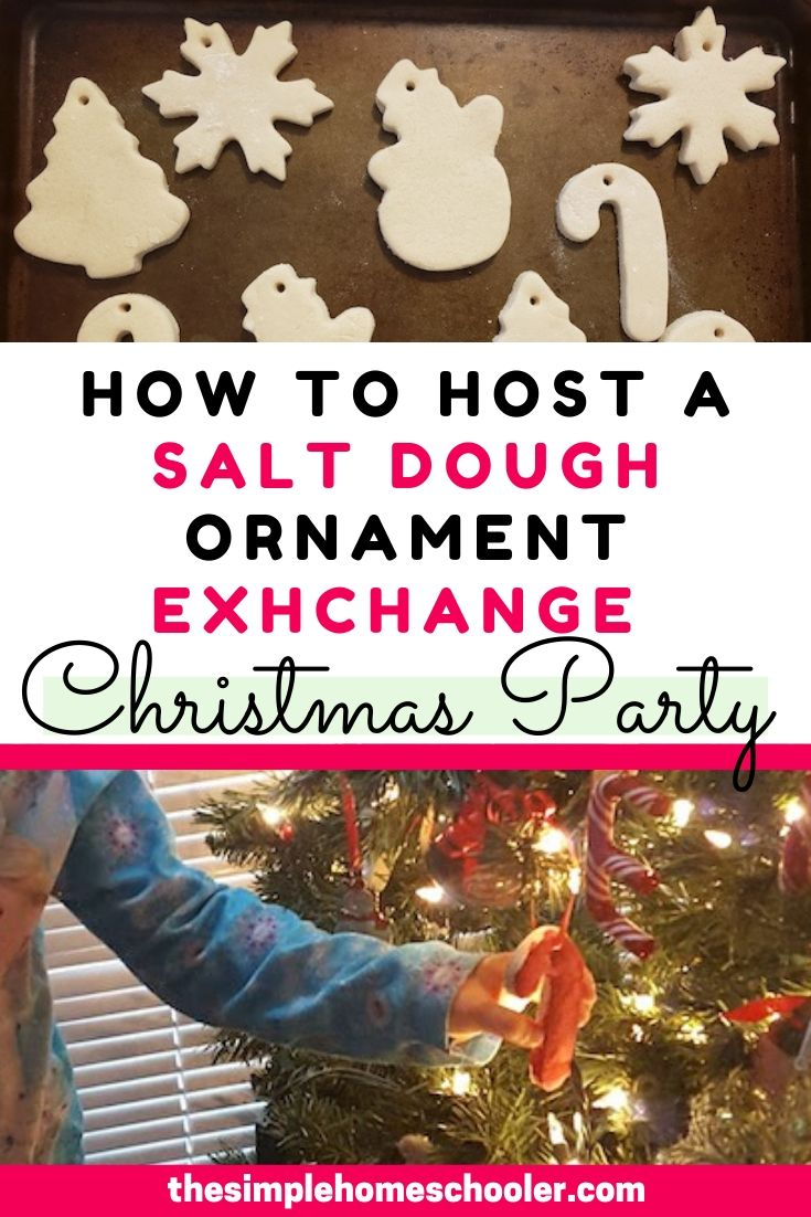 How to Plan a Salt Dough Ornament Exchange Christmas Party
