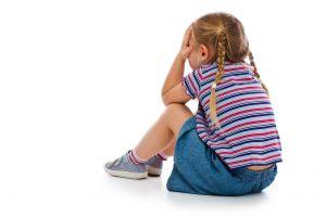 Homeschool student crying