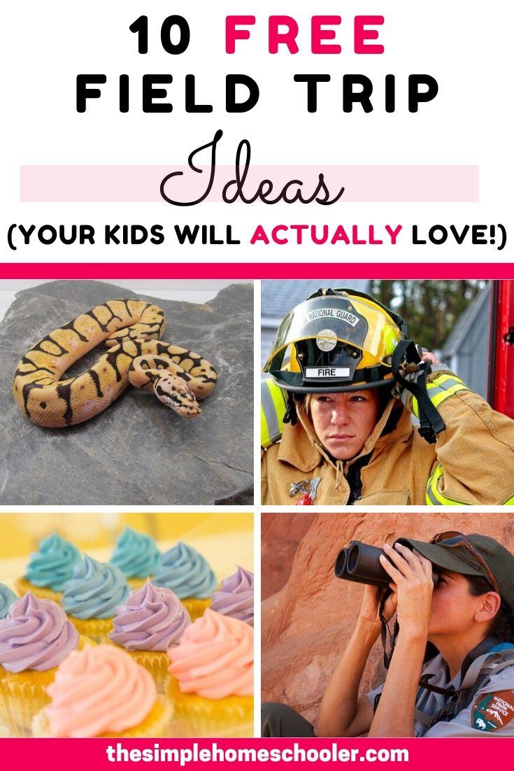 10 Free Field Trip Ideas!