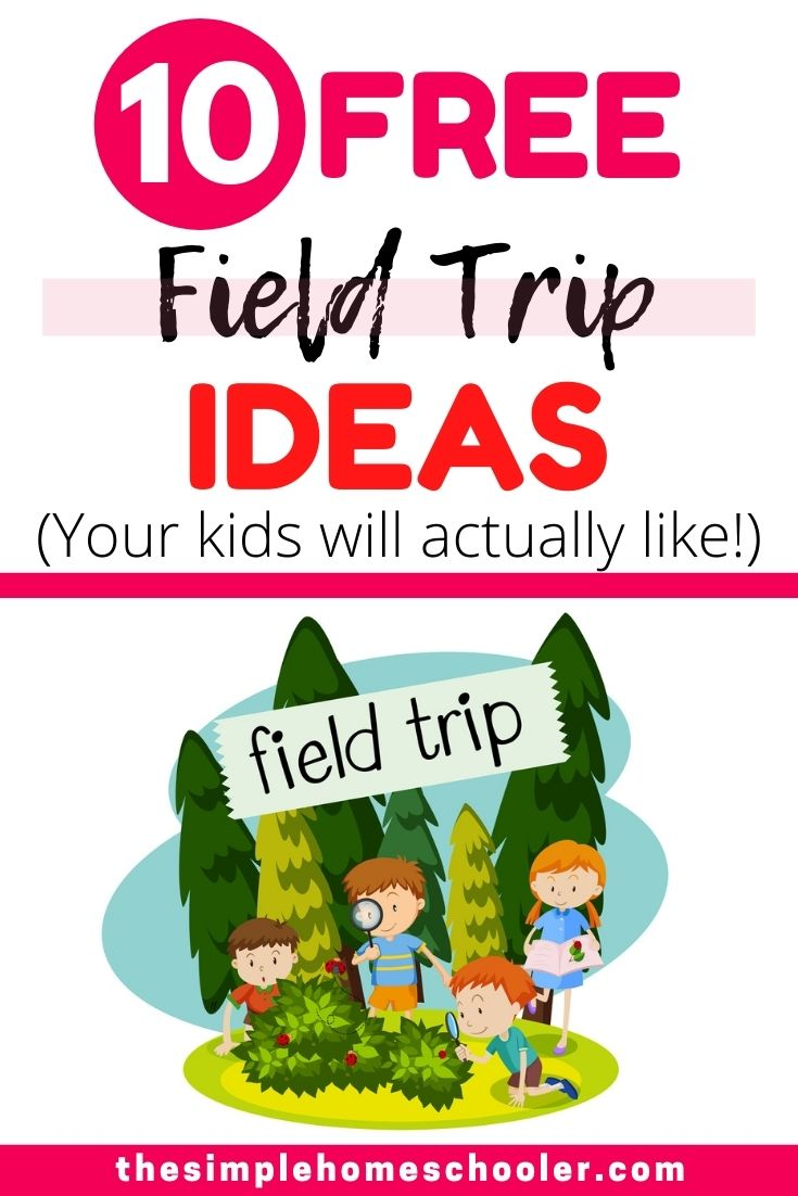 Looking for free field trip ideas that are also fun for your homeschool? I have 10 'outside the box' field trips ideas that your kids are going to love!