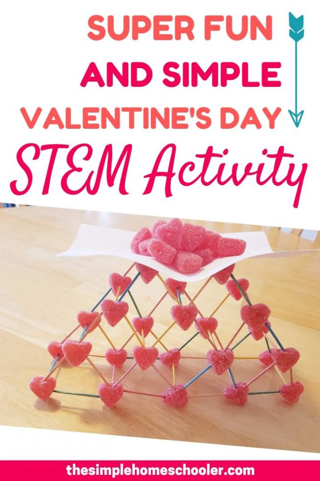 Looking for an easy, fun, and inexpensive Valentine's Day STEM activity for your kids? Check out this simple activity that uses only 2 things from Dollar Tree!