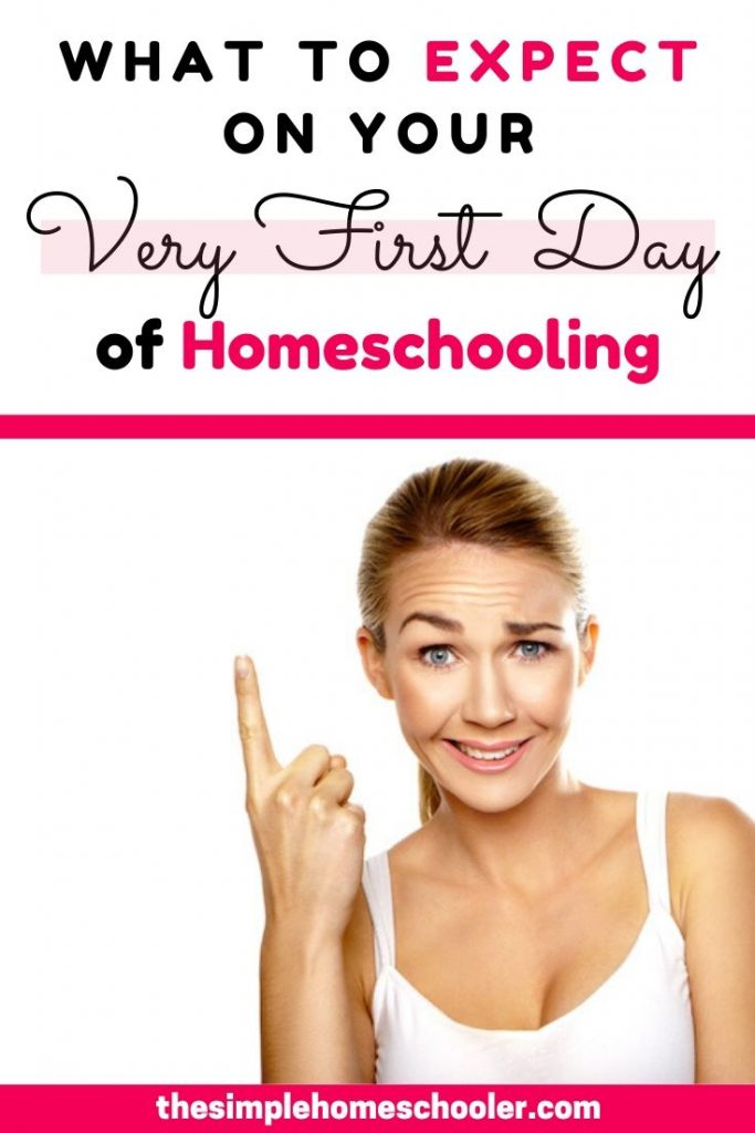Are you pretty nervous about that fast approaching first day of homeschool? Do you have no idea what to expect and it's keeping you up at night? Been there! Take a look at what is coming your way so you can be more prepared and more relaxed.