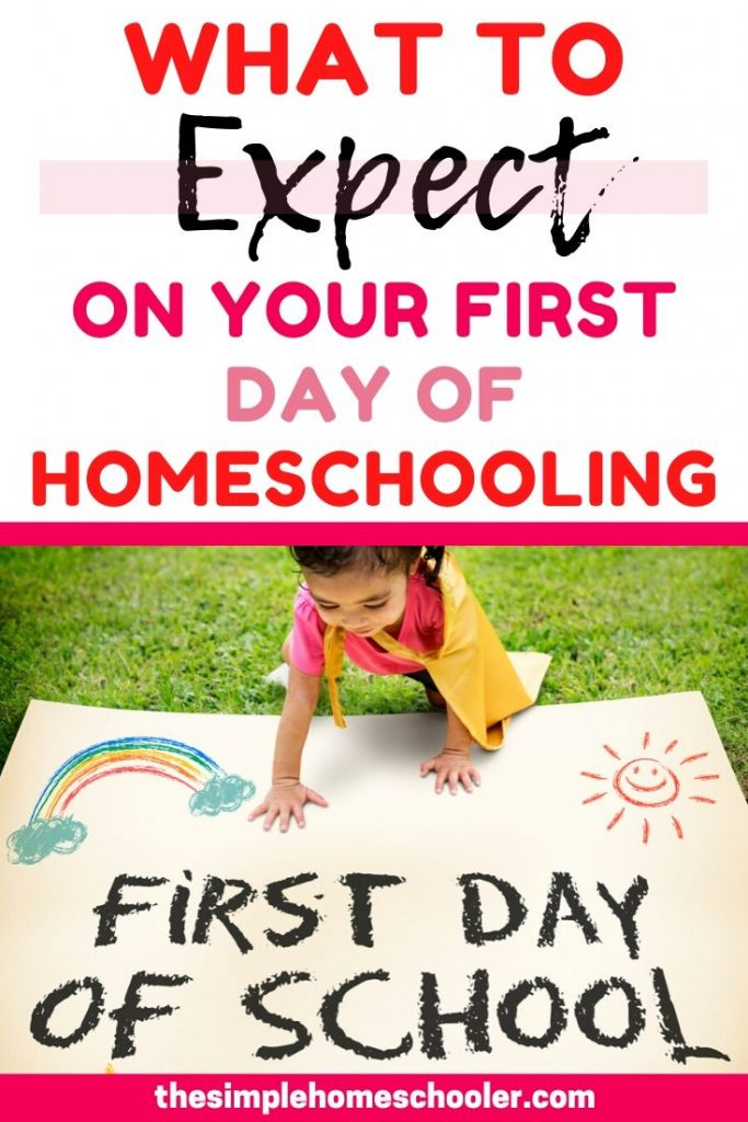 Are you pretty nervous about that fast approaching first day of homeschool? Do you have no idea what to expect and it's keeping you up at night? Been there! Take a look at what is coming your way so you can be more prepared, encouraged, and relaxed!