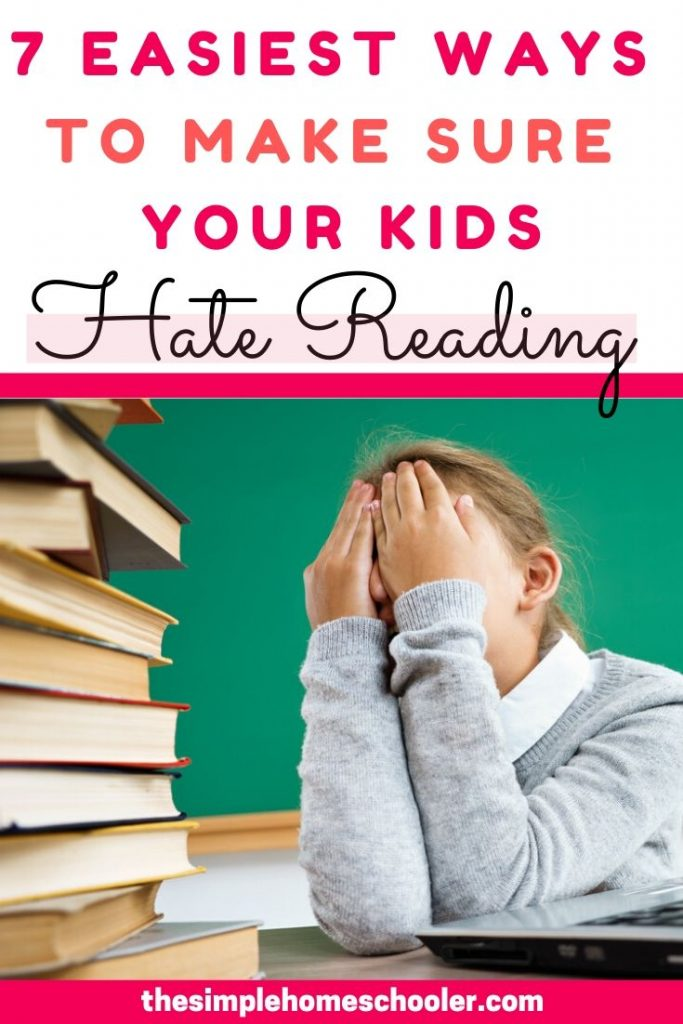 Are you interested in raising kids who love reading? It usually doesn't happen by accident. Stay away from these 7 common mistakes and you will be well on your way to raising life long readers!