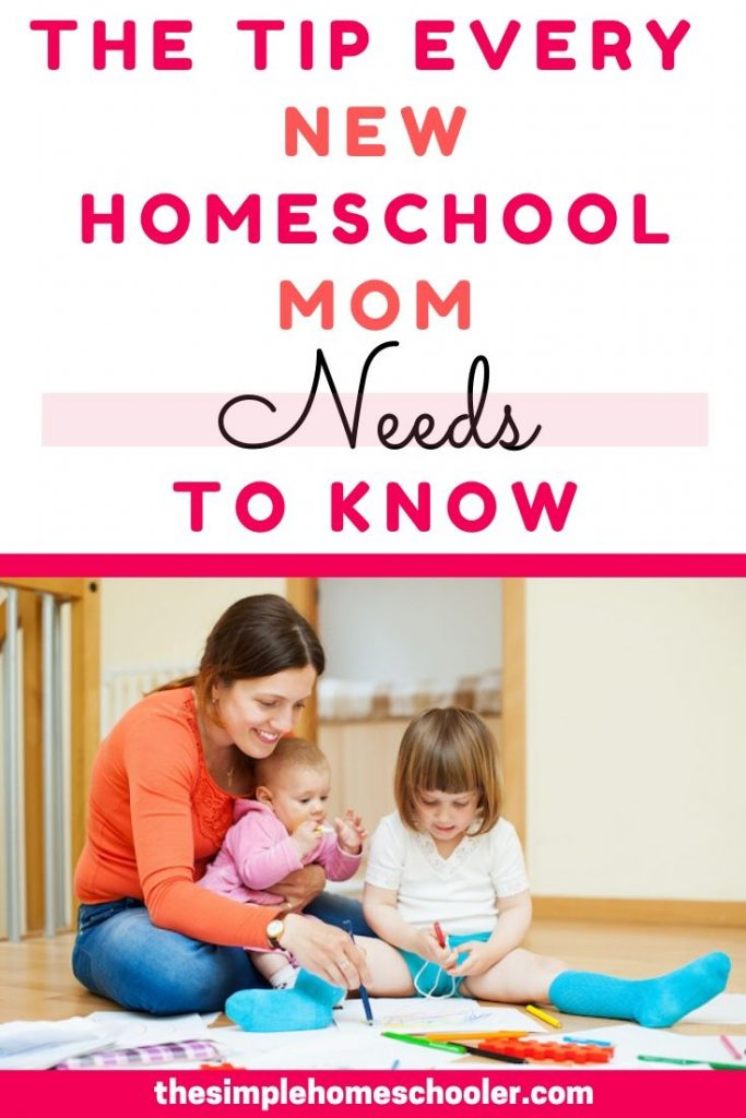 Are you a new homeschool mom or getting ready to start homeschooling? This is a must read article to prepare you for the journey ahead and help you shape the fun, happy, successful, homeschool you've been dreaming of! I share the homeschool tip that helped float me through and made all the difference in our first year of homeschooling.