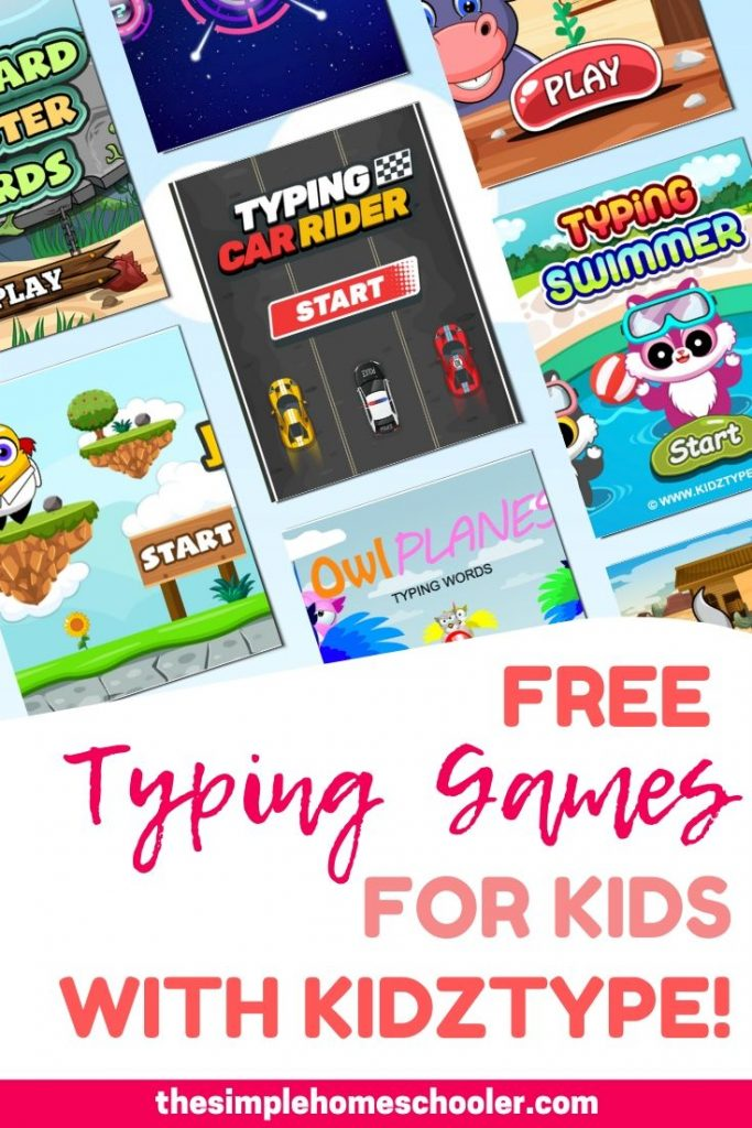 Looking for some free typing games and lessons for your kids? Kidztype is a FREE typing program packed with everything your kids will need to become fluent, speedy typists! The website is packed with super fun games that will have your kids begging for more! Click to check out my full review of this awesome resource.