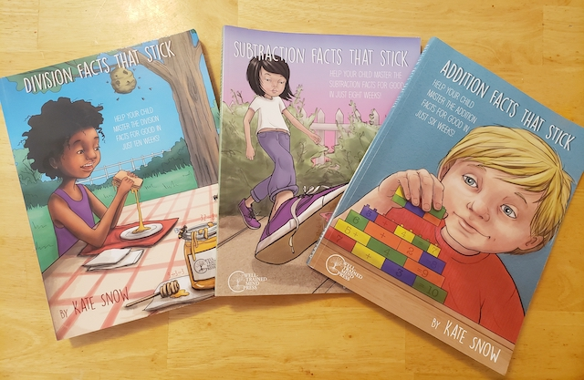 Math Facts that Stick Review Books