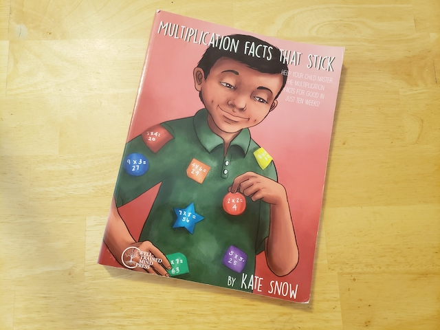 Multiplication Facts that Stick Book