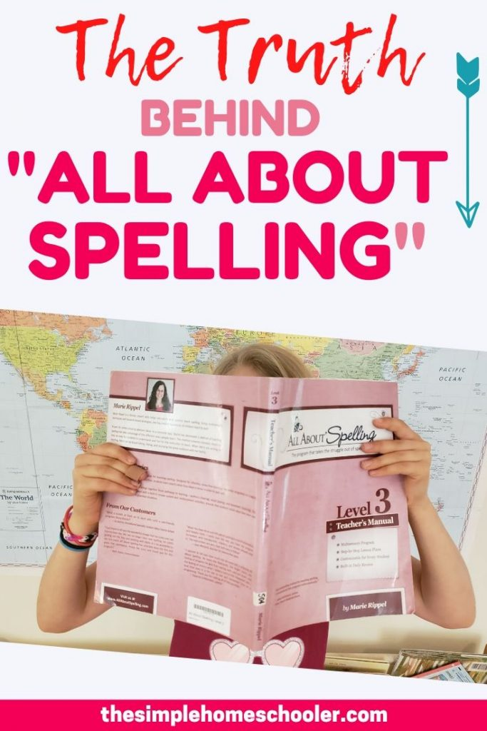 "The Truth behind ""All About Spelling"""