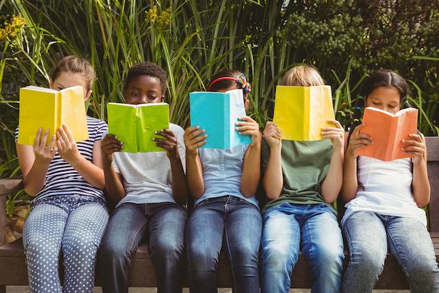 Public school kids reading books Homeschoolers would not read