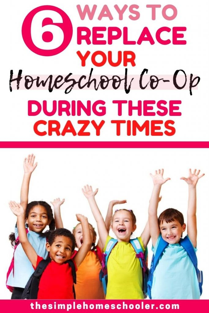 6 Ways to Replace Your Homeschool Co-Op During These Crazy Times