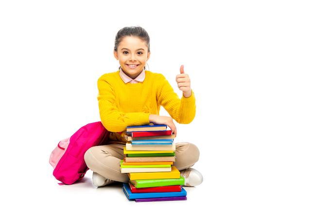 Happy homeschool kid not wanting online school