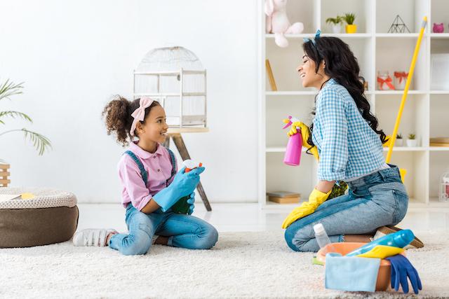 homeschool hack - chores as life skills for kids