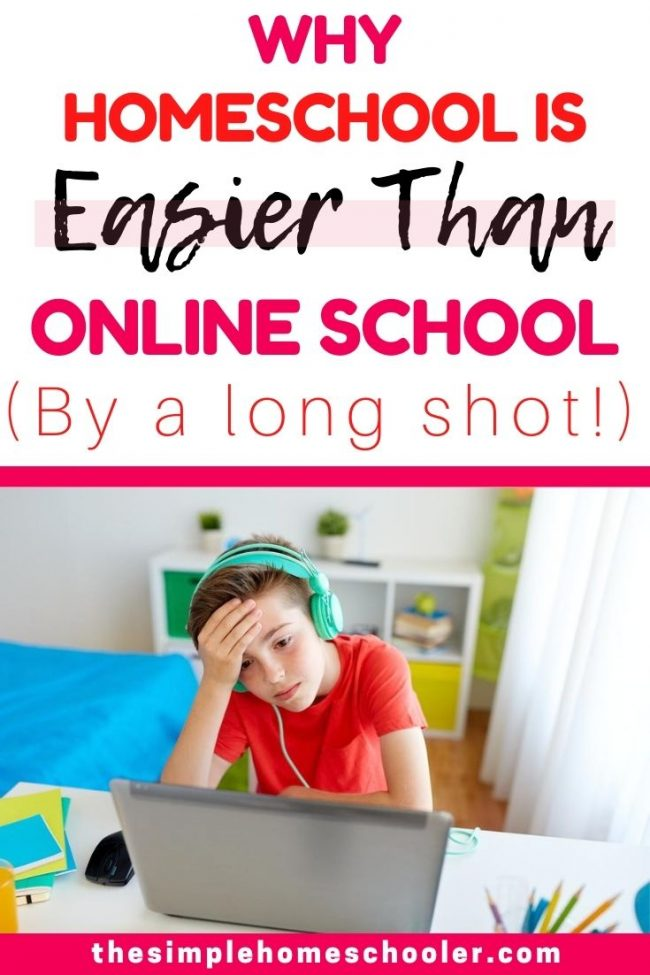 Struggling with the decision about homeschool vs online public school? I understand there are a lot factors to think about, but there are 10 huge reasons to consider before making this decision.
