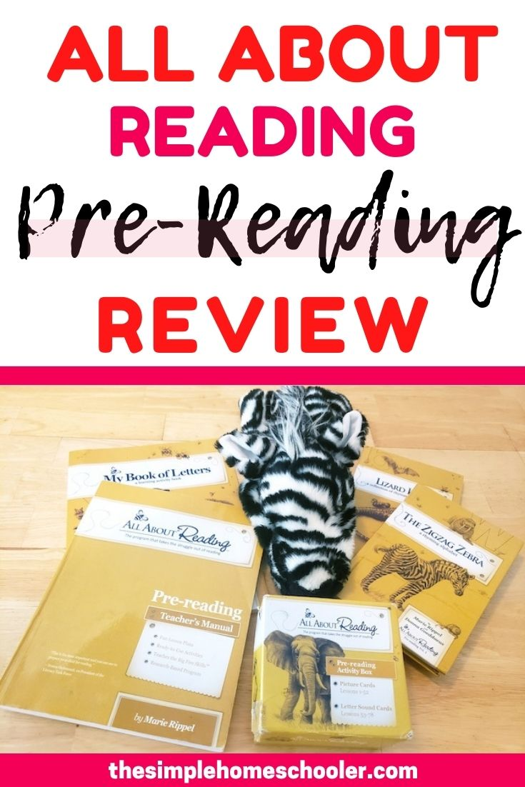 Check out this All About Reading Pre-Reading Review to find out all the things we love (and don't love!) about this curriculum after using it with two kids. Find out exactly how the lessons run, what it covers, how long they take, what supplies you'll need, and the tips I've learned along the way. As an added bonus, I share if you really need that deluxe package or not!