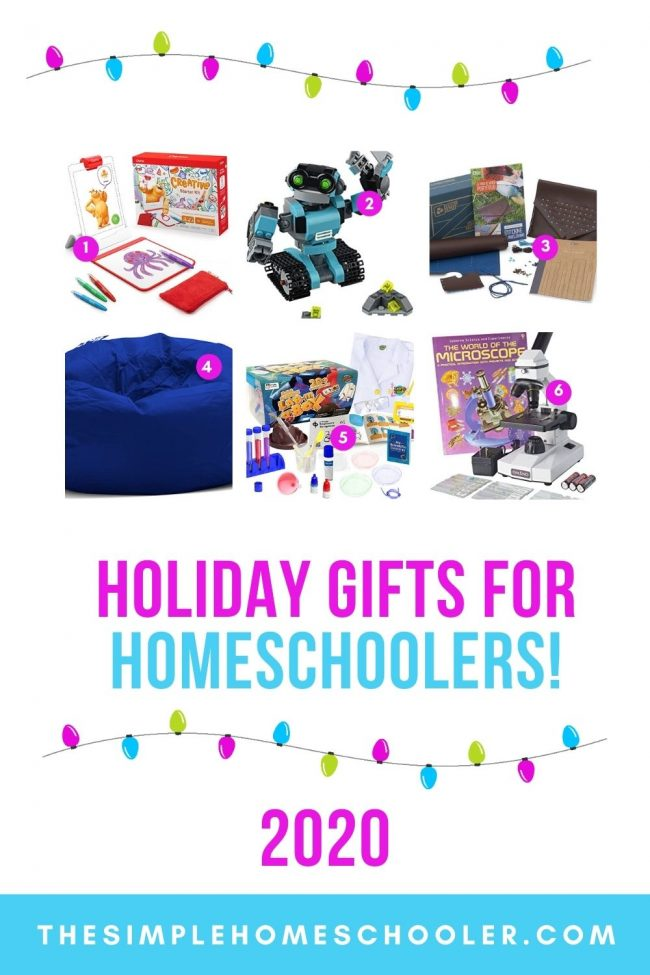 Want to be a hero on Christmas morning for the homeschooler in your life? Check out the Ultimate Holiday Gift Guide 2020 for the best gifts that walk the balance of supporting the homeschool lifestyle and that kids will be bragging about to their friends!