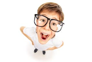 Smart homeschool kid loves math