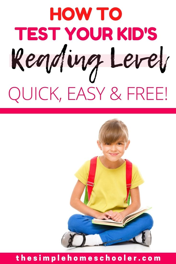Find out the three best ways to test your kid's reading level online for free! It's a great way to pinpoint weaknesses, identify gifted students, and pick better books for your kid! Also find out how to get the most accurate scores and what to do when you don't get the result you were hoping for.