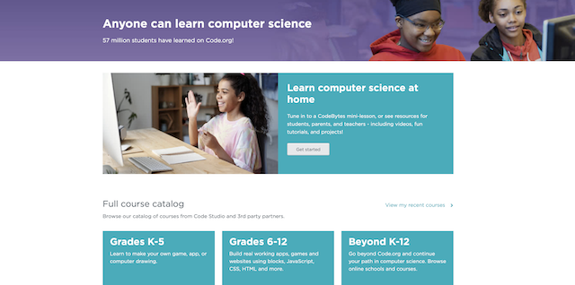 Free Coding Resource for homeschoolers