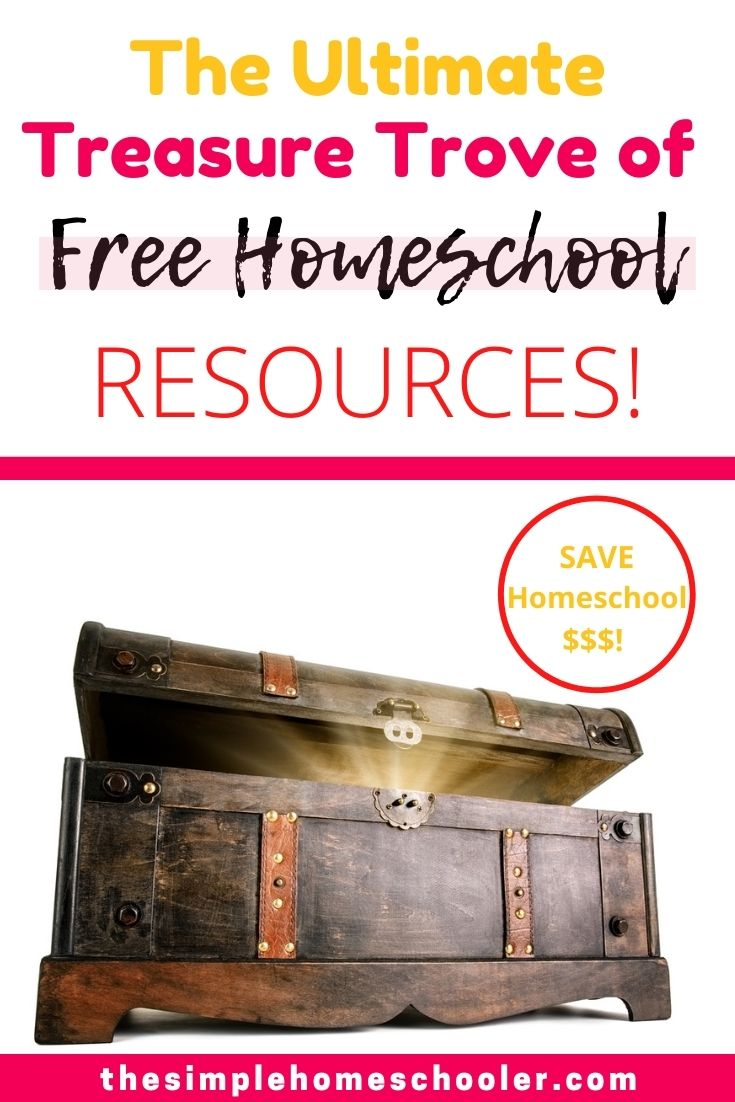 Is homeschooling squeezing your wallet a little too much? It can add it up fast! Thankfully we are homeschooling in a time when the internet is literally overflowing with free homeschool resources! Check out this ultimate list to find all the free resources, printables, lessons, games, and more that is out there!